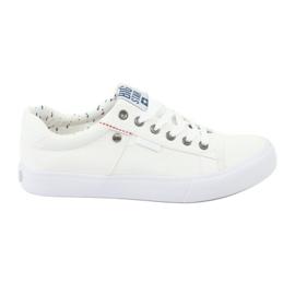Big Star férfi cipők kötve fehér 174097