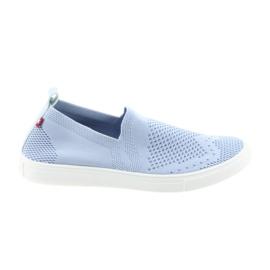 Big Star kék Nagycsillagos slipony csúszós cipők 274785