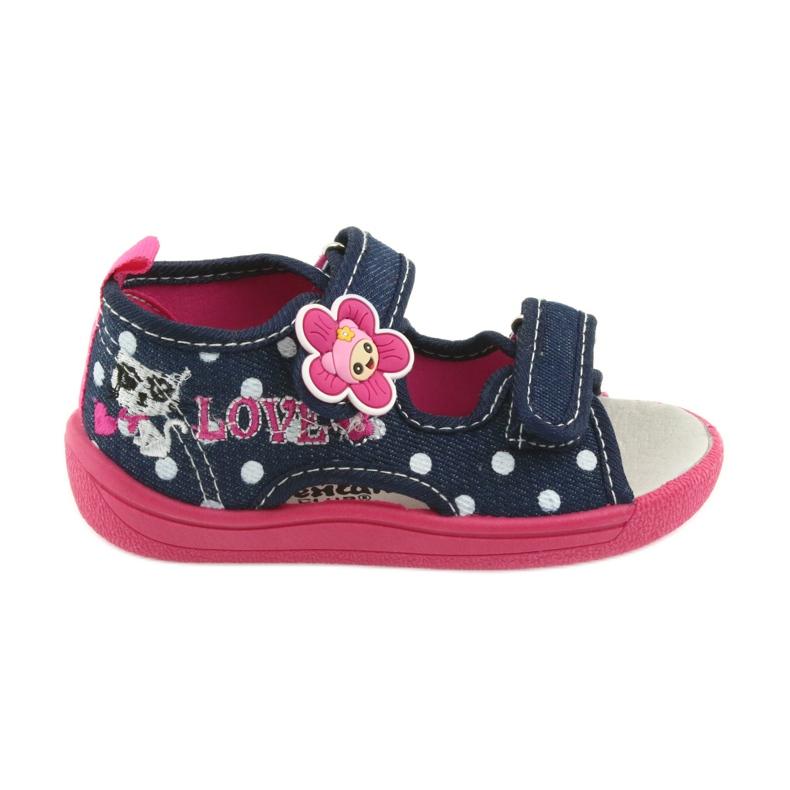 American Club Dječje cipele papuče sandale američki kožni umetak