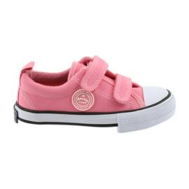 Amerikai rózsaszín cipők American Club LH50