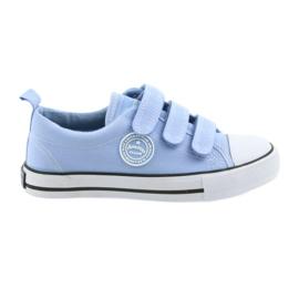 Tenisice dječje velcro cipele American Club plava LH49
