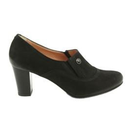 Crna Crne visoke potpetice Espinto P52 / 1