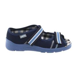 Sandale dječje cipele Velcro Befado 969x101 mornarsko plave boje
