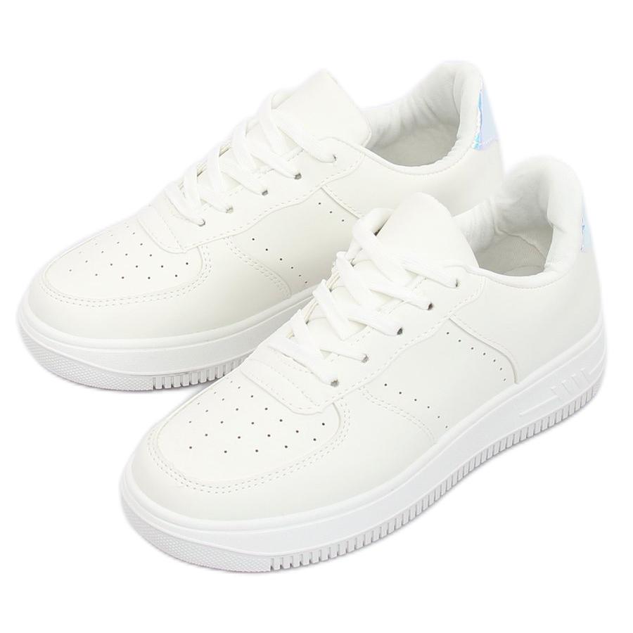 0d88b1b079d8 Fehér LV75P fehér sportcipő - ButyModne.pl