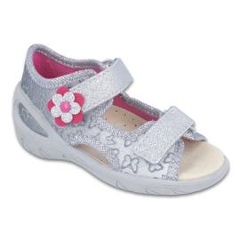 Befado dječje cipele pu 065X124 siva