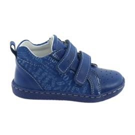 Plava Dječja medicinska obuća s čičak Ren But 1429