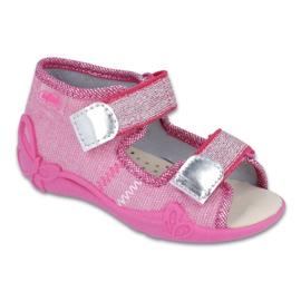 Rózsaszín Befado sárga gyermekcipő 342P001