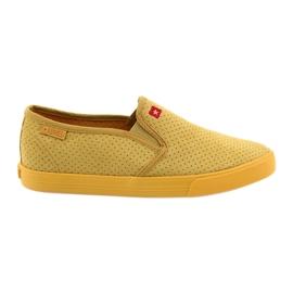 Sárga Big Star 274889 női cipők