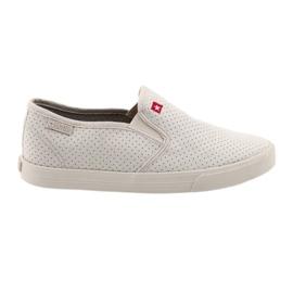 Szürke Big Star 274887 női csúszós cipők