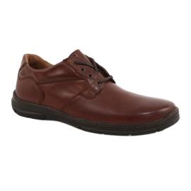 Badura cipő férfi kényelem 3509 barna