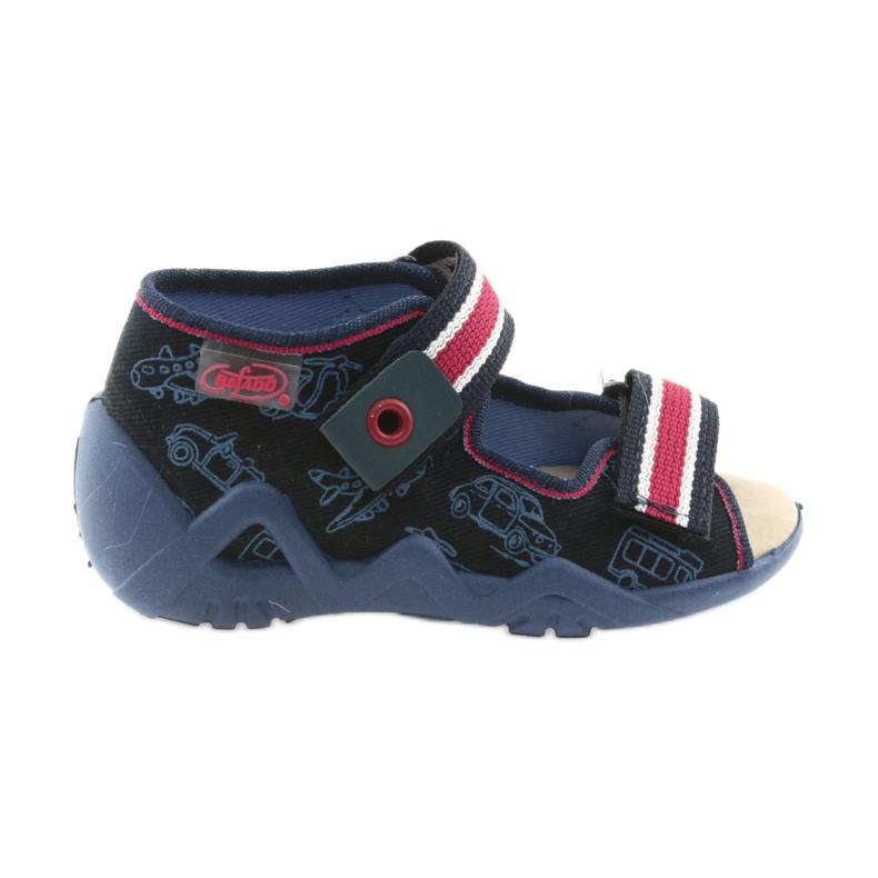 Befado žute dječje cipele 350P003 mornarica