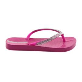 Flip flops ezüst láncok Ipanema 82528 rózsaszín