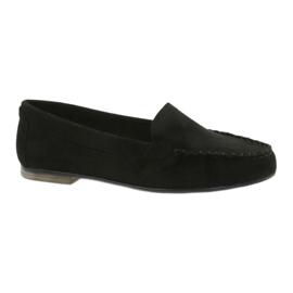 Crna Ženske antilop cipele Sergio Leone 721 crne