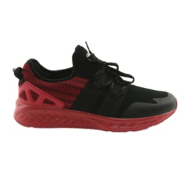 Férfi sportcipők DK 18332 fekete / piros