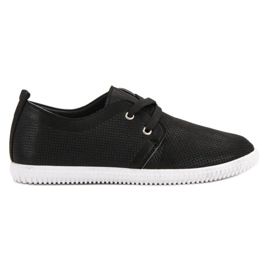 Super Mode crna Klasične crne cipele