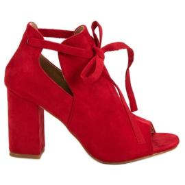 Vinceza crvena Ugrađene sandale u baru