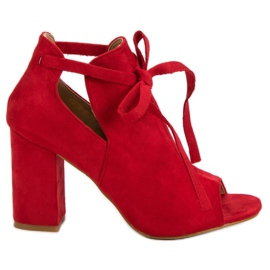 Vinceza Ugrađene sandale u baru crvena