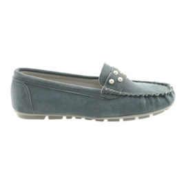 Filippo sive ženske mokasinske cipele siva
