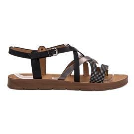 Filippo crna Ležerne sandale