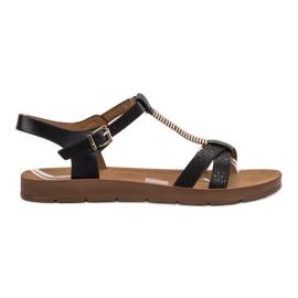 Filippo crna Klasične crne sandale