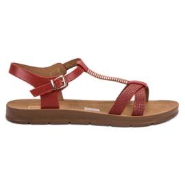 Filippo Klasične crvene sandale crvena