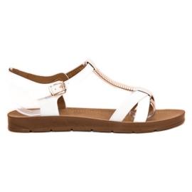 Filippo Klasične bijele sandale bijela