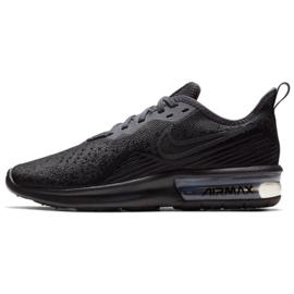 Fekete Cipők Nike Air Max Sequent 4 W AO4486-002