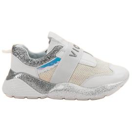 Slip-on VICES sportske cipele bijela
