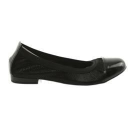 Balerinki ženska gumica Gamis 1402 crna