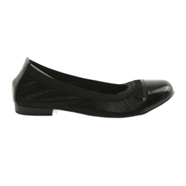 Ballerinki női radír Gamis 1402 fekete