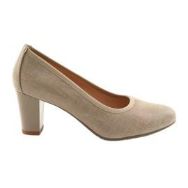 Ženska cipela elastičan potplat Arka 5137 bež smeđ