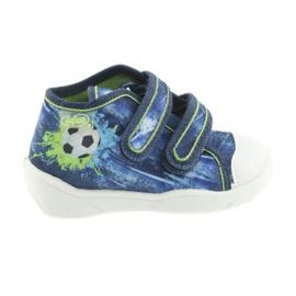 Kék Befado narancssárga gyermekcipő 212P058