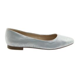 Ballerinas szivattyúk Caprice 22104 ezüst kék