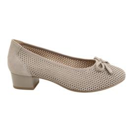 Női cipő Caprice 22501 bézs arany