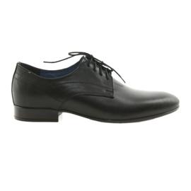Muške klasične platnene cipele Nikopol 1693 crne crna