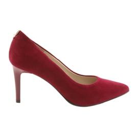Crvene ženske cipele SALA 7064 crvena