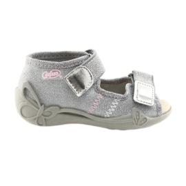 Siva Dječje cipele Befado 342P002 srebrne boje