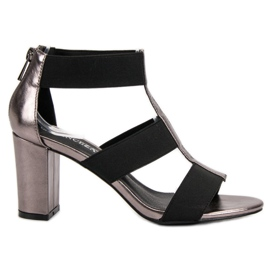 Modne sandale na UP posta VINCEZA siva