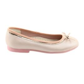 Ballerinas íj rózsaszín gyöngyszemű American Club GC14 / 19