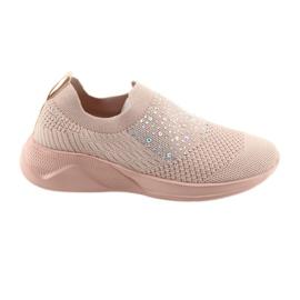 Rózsaszín American Club sportcipők AD05