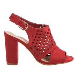 Seastar Otvorene, sagrađene sandale crvena