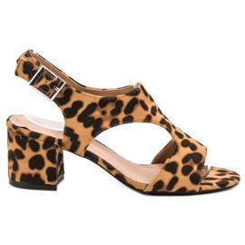 Queen Vivi smeđ Suede sandale