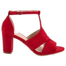 Vinceza crvena Crvene sandale