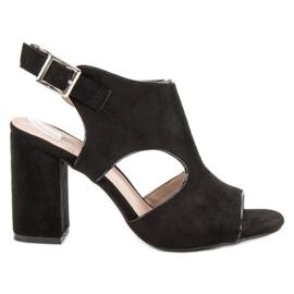 Vinceza Ugrađene sandale od Sandceze crna