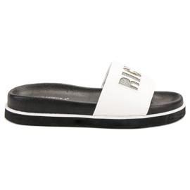 Vinceza Bijele papuče bijela