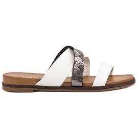 Vinceza bijela Klasične papuče