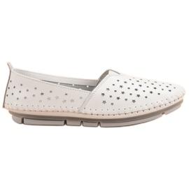 Kylie Kožne ženske cipele bijela