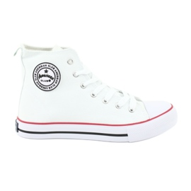 American Club fehér Sneakers White kötött amerikai klub
