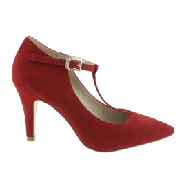 Női cipő piros Caprice 24400
