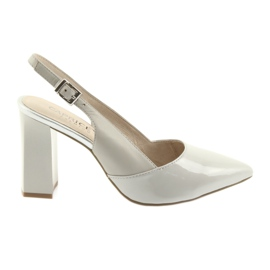 Siva Ženske sandale na post Caprice 29604 sive